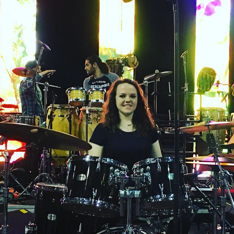 agginis-arena-lindsay-artkop-drummer-plays-the-drums-at-berklee-2016-commencement-concert